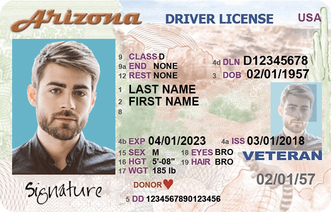 arizona drivers licence address change